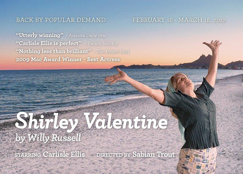 SHIRLEY VALENTINE At Live Theatre Workshop