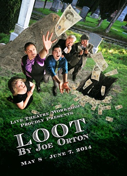 the conventions of farce in joe ortons play loot Loot is a two-act play by the english playwright joe orton the play is a dark farce that satirises the roman catholic church, social attitudes to death, and the integrity of the police force loot was orton's third major production, following entertaining mr sloane and the television play the good and faithful servant playing.